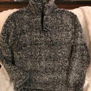 Tops - Sherpa 1/2 zip pullover Sz Sm women's